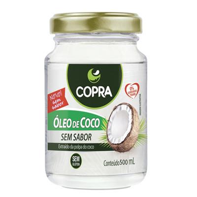 Óleo de coco sem sabor 500ml Copra  UN