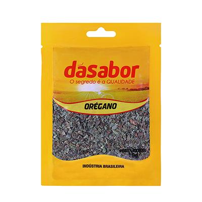 Orégano desidratado 10g DáSabor pacote PCT
