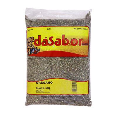 Orégano desidratado 500g DáSabor pacote PCT