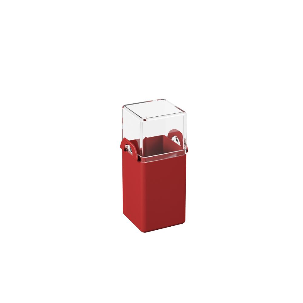 Paliteiro  Casual Vermelho Bold Polipropileno (PP) unidade Coza  UN