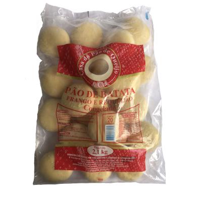 Pão de Batata Frango com Requeijão 20 unidades Casa do Pão de Queijo pacote 2,7kg PCT