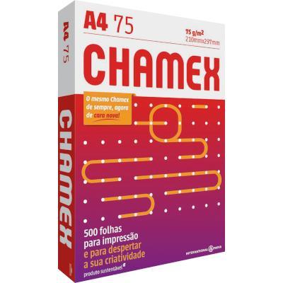 Papel Sulfite A4 75g 500 folhas Chamex/Office pacote PCT