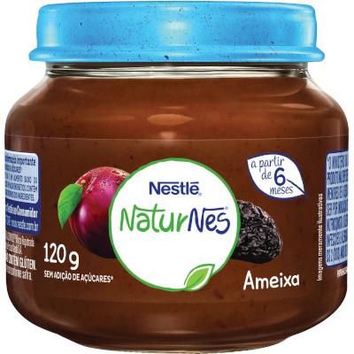 Papinha Ameixa Naturnes 120g Nestlé pote POTE