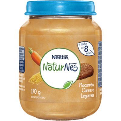 Papinha de Carne com Legumes e Macarrão 170g Nestlé pote POTE