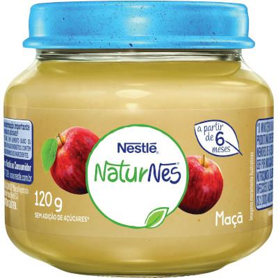 Papinha de Maçã Naturnes 120g Nestlé pote POTE