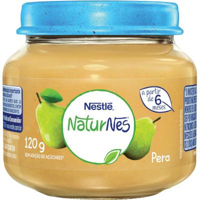 Papinha de Pêra Naturnes 120g Nestlé pote POTE