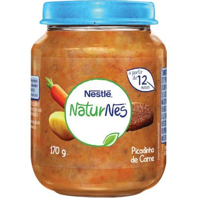 Papinha Picadinho de Carne Naturnes 170g Nestlé pote POTE
