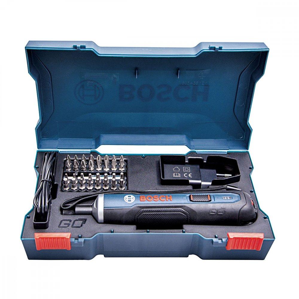 Parafusadeira a Bateria 33 Acessórios Go 3,6v Azul Bivolt unidade Bosch  UN