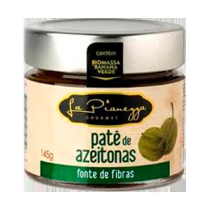 Patê de azeitona com biomassa de banana verde 145g La Pianezza vidro UN