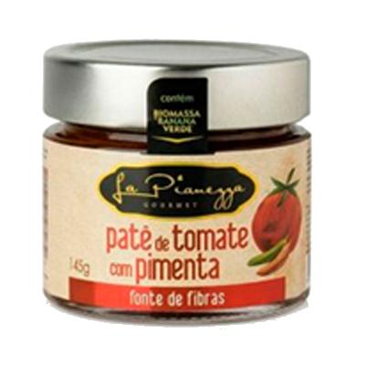 Patê de tomate com pimenta e biomassa de banana verde 145g La Pianezza pote UN