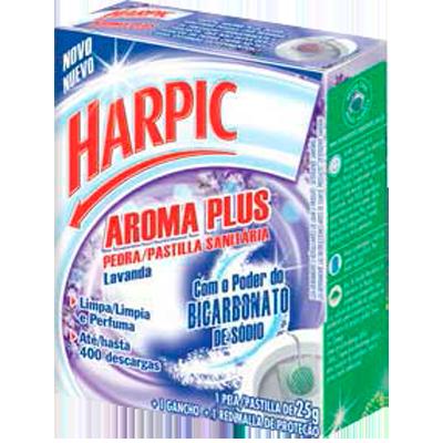 Pedra Sanitária aroma lavanda 20g Harpic  UN