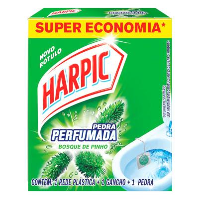 Pedra Sanitária Pinho 40% Desconto 20g Harpic  UN