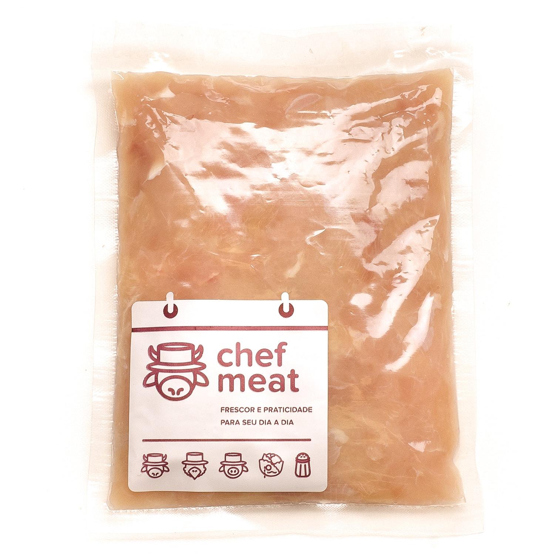 Peito de Frango Resfriado Moído 1Kg Chef Meat pacote PCT
