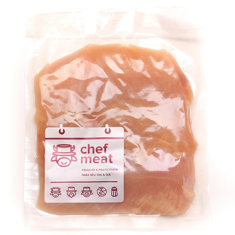 Peito de Frango Resfriado sem Sassami 1Kg Chef Meat pacote PCT
