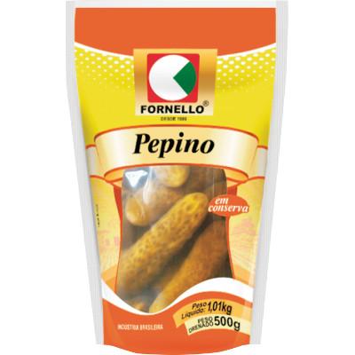 Pepino em Conserva 500g Fornello sachê UN