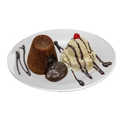 Petit Gateau chocolate congelado para microondas 100g Empório das tortas  UN