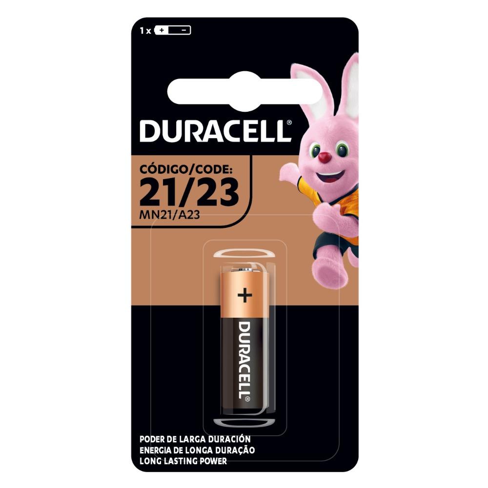Pilha Alcalina mini MN21 12 volts unidade Duracell  UN