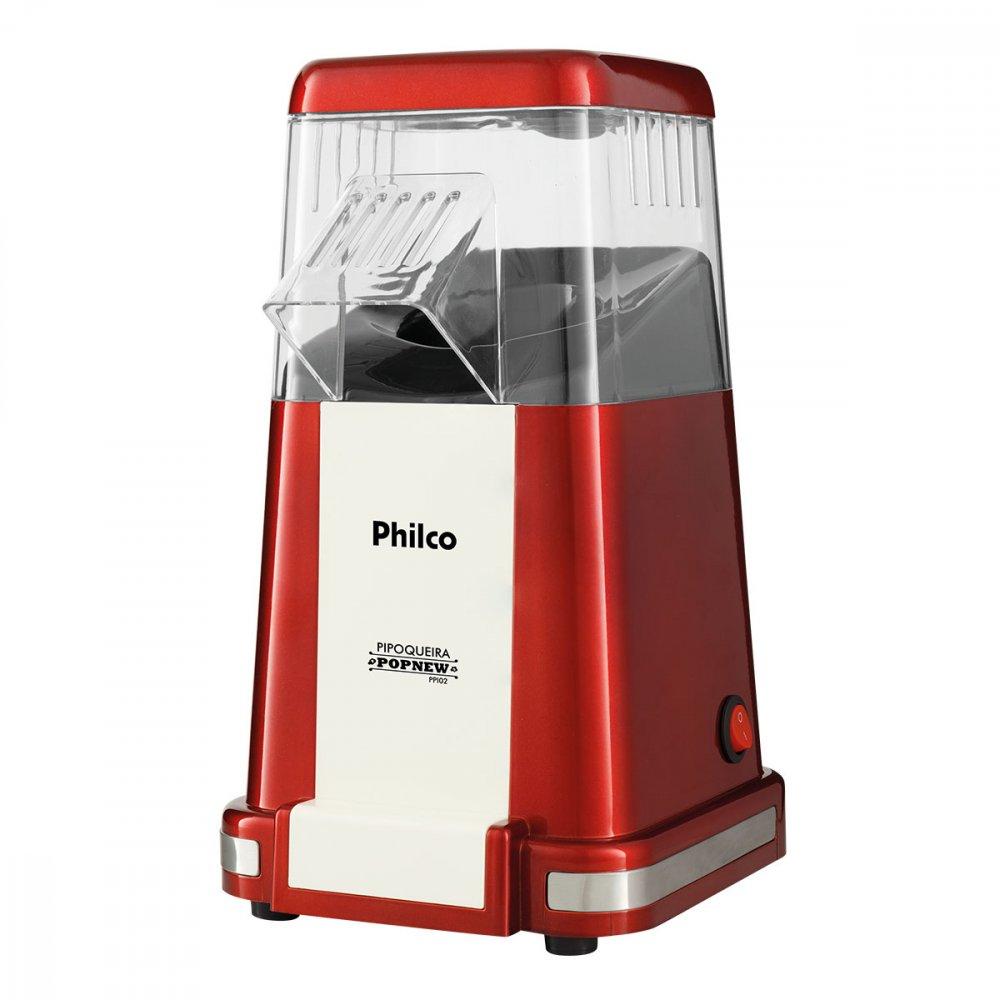 Pipoqueira Elétrica Popnew 1200W PPI02 Vermelha 110v unidade Philco  UN