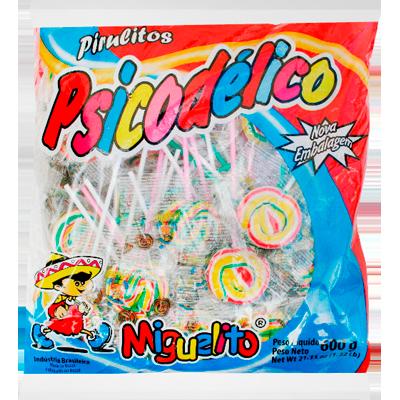 Pirulito psicodélico 600g Miguelito pacote UN