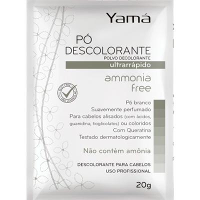 Pó Descolorante Amônia Free 20g Yamá  UN