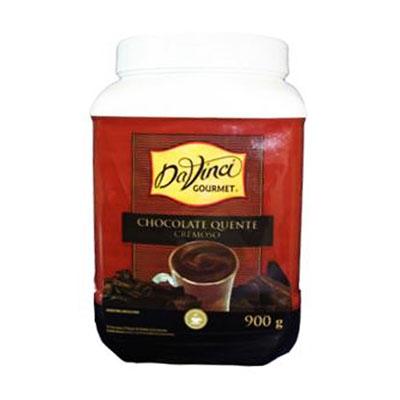 Pó para o preparo de chocolate quente cremoso Gourmet 900ml Da Vinci pote UN
