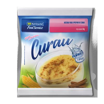 Pó para preparo de curau  520g Nutrimental pacote PCT