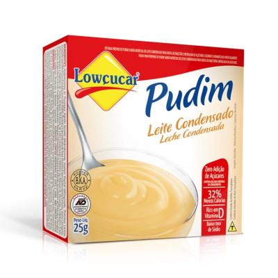 Pó para preparo de Pudim sabor leite condensado diet 25g Lowçucar caixa UN