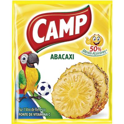 Pó para preparo de suco sabor abacaxi 15g Camp unidade UN