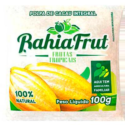 Polpa de cacau congelado 100g BahiaFrut  UN