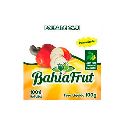 Polpa de cajú congelado 100g BahiaFrut  UN
