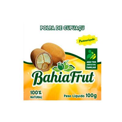 Polpa de cupuaçu congelado 100g BahiaFrut  UN