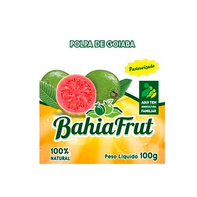 Polpa de goiaba congelado 100g BahiaFrut  UN