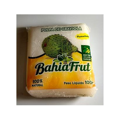 Polpa de graviola congelado 100g BahiaFrut  UN