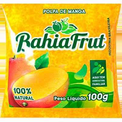 Polpa de manga congelado 100g BahiaFrut  UN