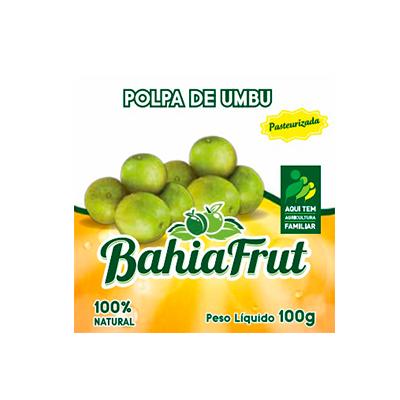 Polpa de umbu congelado 100g BahiaFrut  UN