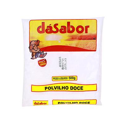 Polvilho doce 500g DáSabor pacote PCT