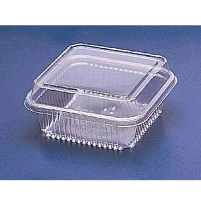 Pote descartável plástico quadrado G 650ml 10 unidades Galvanotek pacote UN