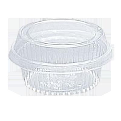 Pote descartável plástico redondo G 645ml 10 unidades Galvanotek pacote UN