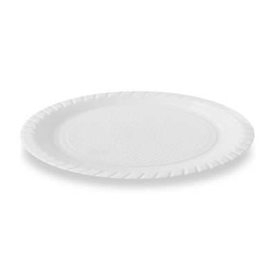 Prato Descartável Branco 15cm 10 unidades Louri Festas pacote PCT