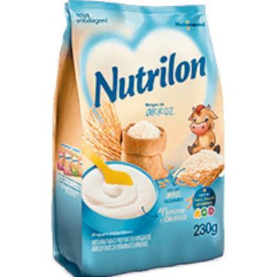 Preparo para Mingau sabor Arroz 230g Nutrilon pacote UN