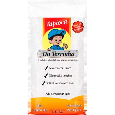 Preparo para Tapioca  1kg Da Terrinha pacote PCT