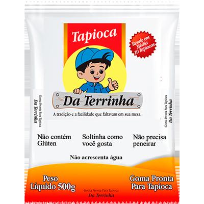 Preparo para Tapioca  500g Da Terrinha pacote PCT