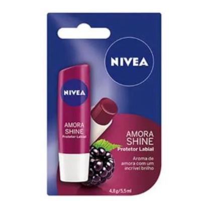 Protetor Labial care fruity shine amora 4,8g Nivea  UN