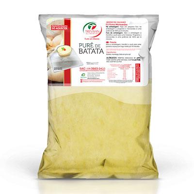 Purê de Batata  1kg Trevisan pacote PCT