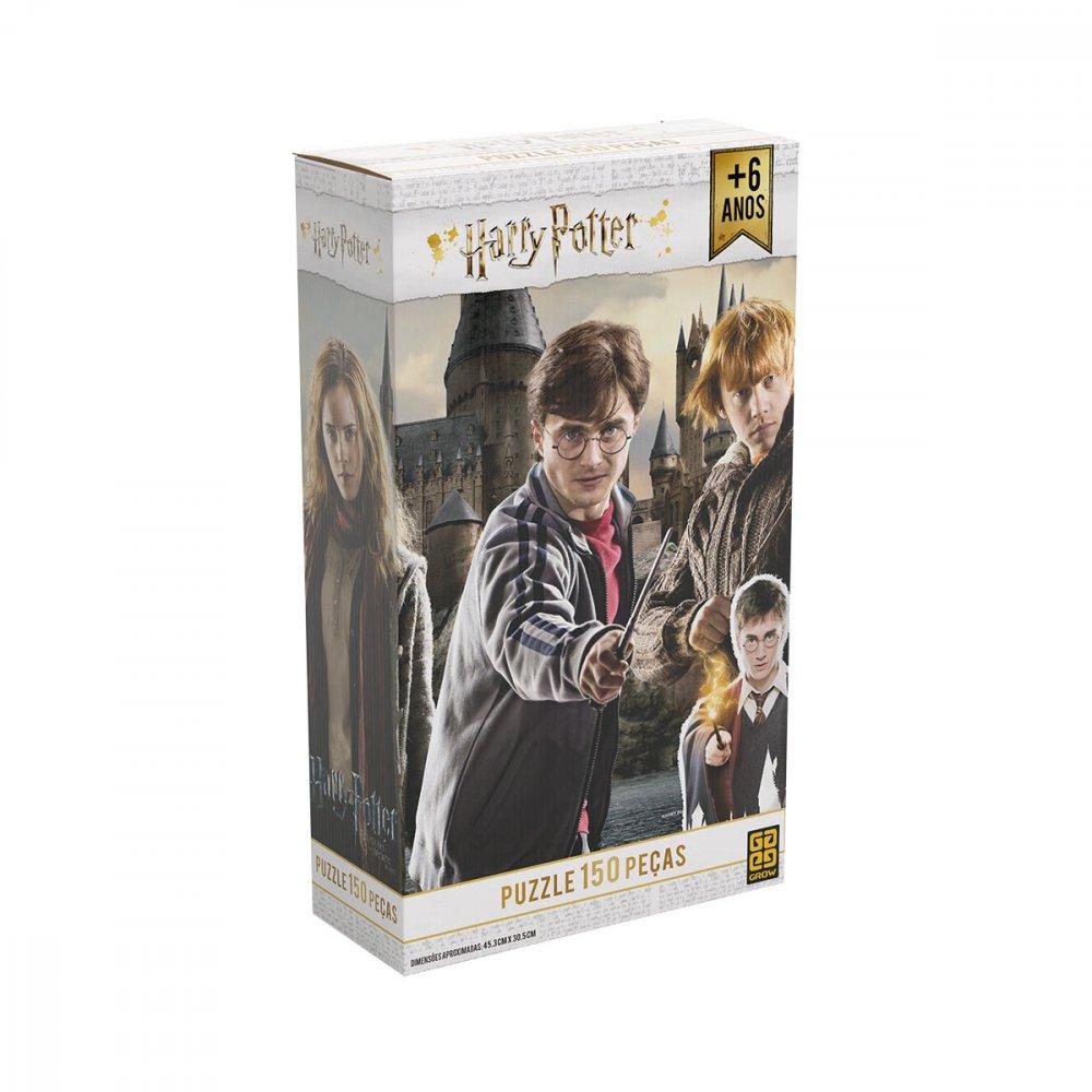 Quebra-Cabeça Infantil Harry Potter 3616 150 peças Grow  UN
