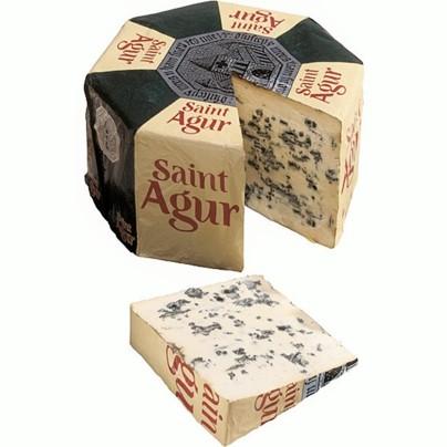 Queijo Azul roquefort francês por kg Saint Agur  KG