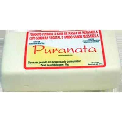 Queijo Mussarela com amido por kg Puranata peça KG