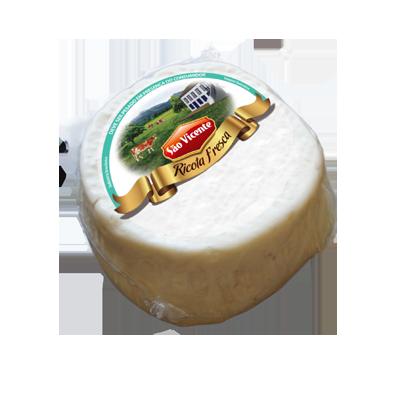 Queijo Ricota fresca por Kg São Vicente (peça de 500g) KG