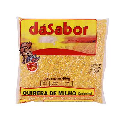 Quirera de Milho  500g DáSabor pacote PCT
