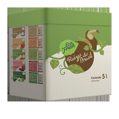 Raizes do Brasil cupuaçu 5kg Eco Fresh  UN
